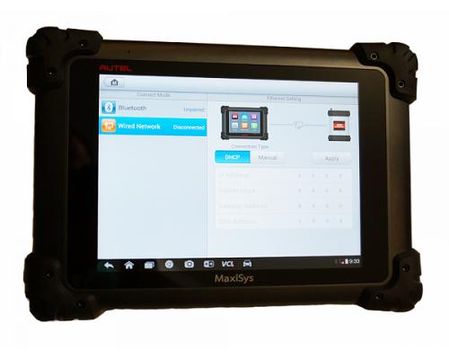 Автосканер для диагностики автомобилей MaxiSys Pro (MS908 Pro)